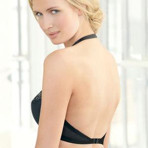Glamorise Convertible Underwire Bra Black Size 36B